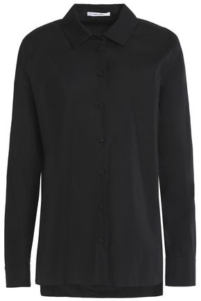 CARVEN Cotton-poplin shirt
