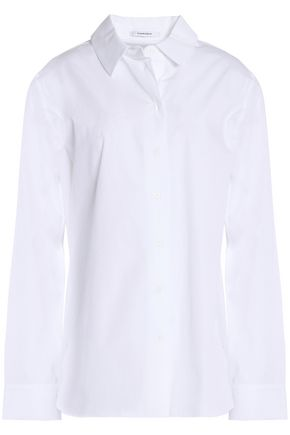 CARVEN Cotton-poplin shirt