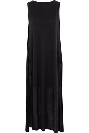 ACNE STUDIOS Cutout slub jersey midi dress