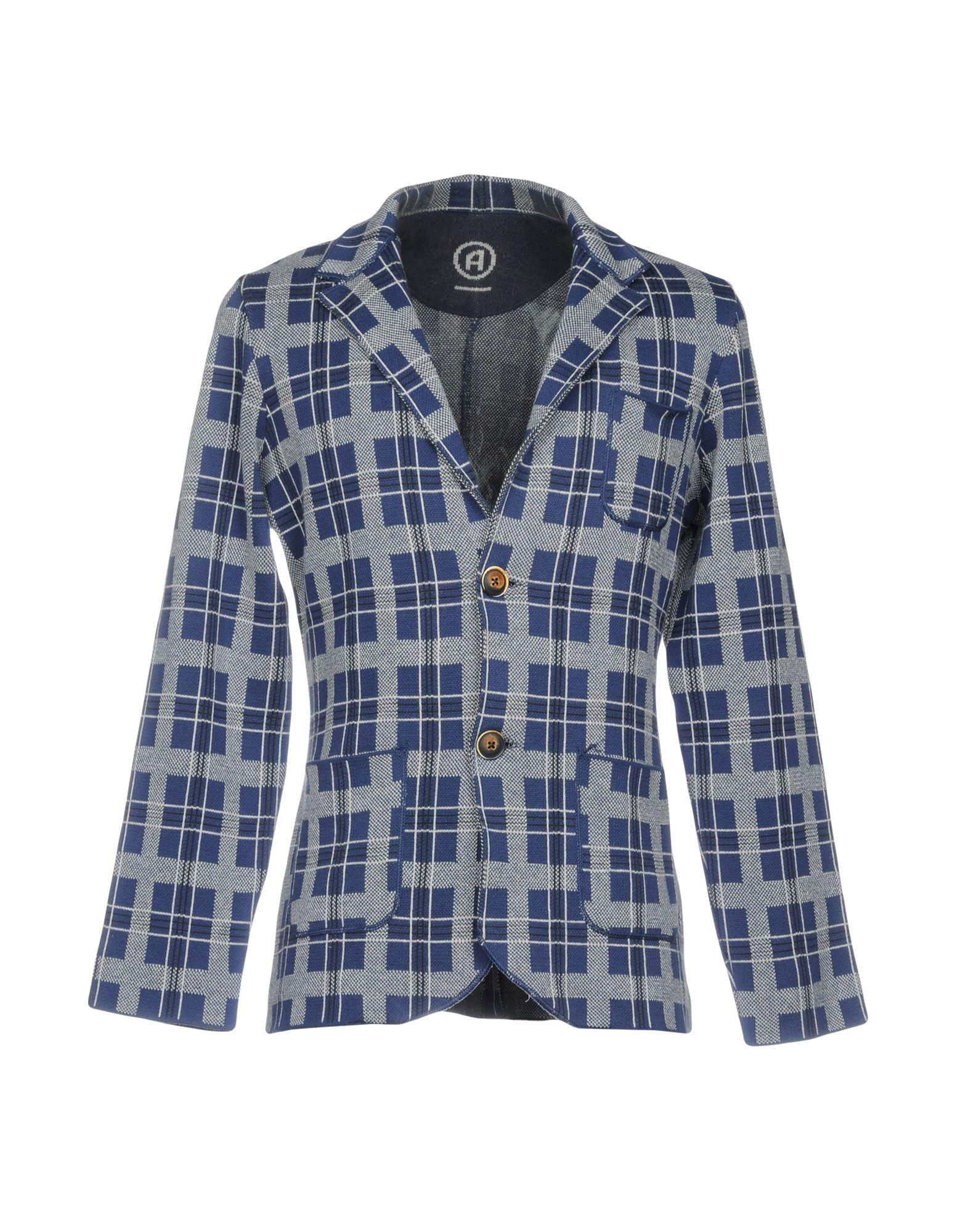 《セール開催中》AVIGNON メンズ テーラードジャケット ブルー XXL コットン 100%