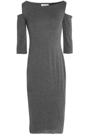 BAILEY 44 Cold-shoulder stretch-jersey dress