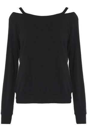 BAILEY 44 Cutout stretch-modal jersey sweatshirt