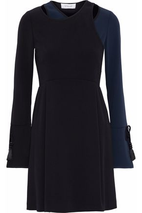 DEREK LAM 10 CROSBY Tassel embellished crepe mini dress