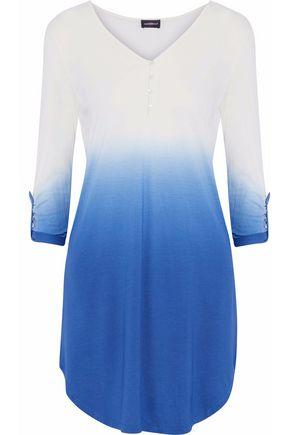 COSABELLA Dégradé cotton and modal-blend jersey pajama top