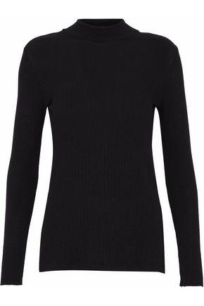 ENZA COSTA Ribbed modal-blend turtleneck sweater