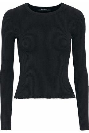 DEREK LAM Ribbed-knit top