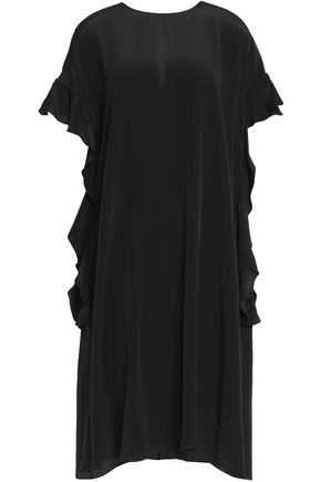ROCHAS Draped silk dress