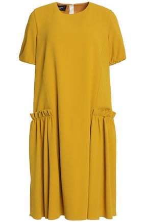 ROCHAS Gathered crepe dress