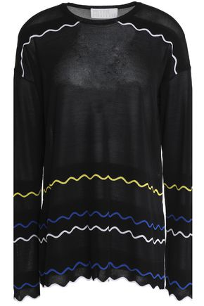 PETER PILOTTO Printed jersey top