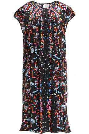 PETER PILOTTO Printed silk-chiffon dress