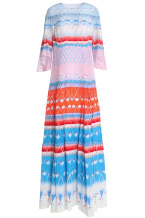 PETER PILOTTO Printed silk maxi dress