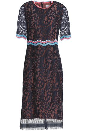 PETER PILOTTO Corded lace dress