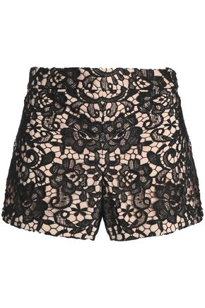 ALICE + OLIVIA Marisa guipure lace shorts