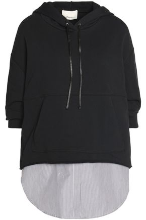 3.1 PHILLIP LIM Layered cotton sweatshirt