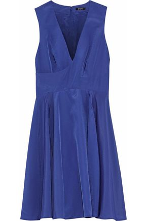 RAOUL Crepe de chine mini dress