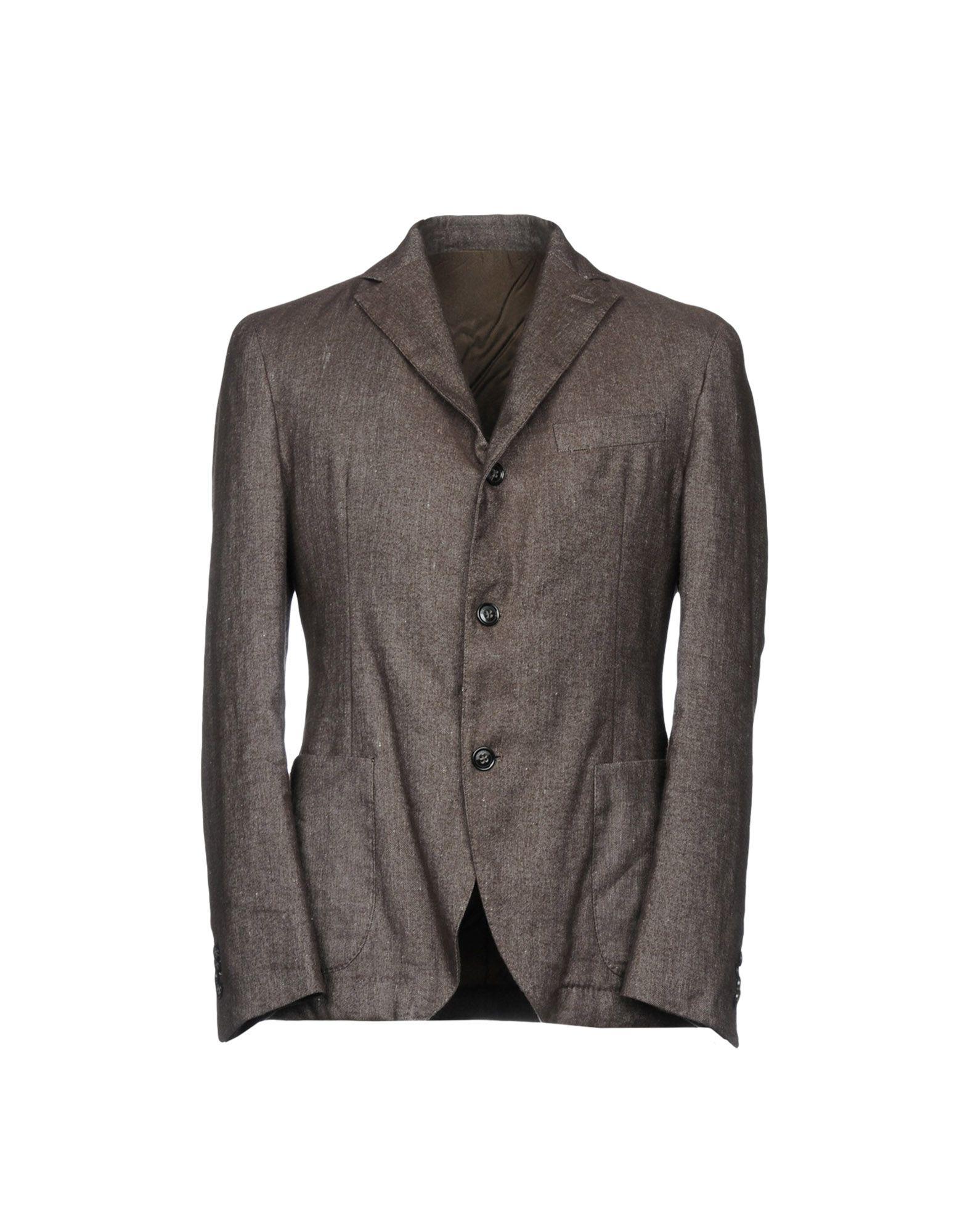 MONTEDORO Blazer in Steel Grey