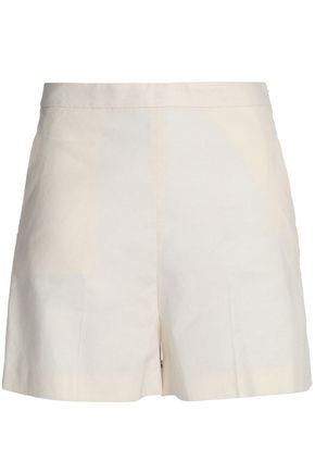 THEORY Tarrytown linen-blend shorts