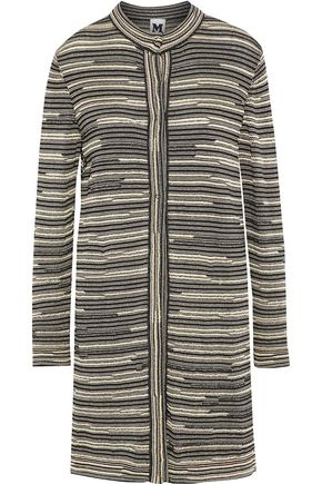 M MISSONI Metalic crochet-knit jacket