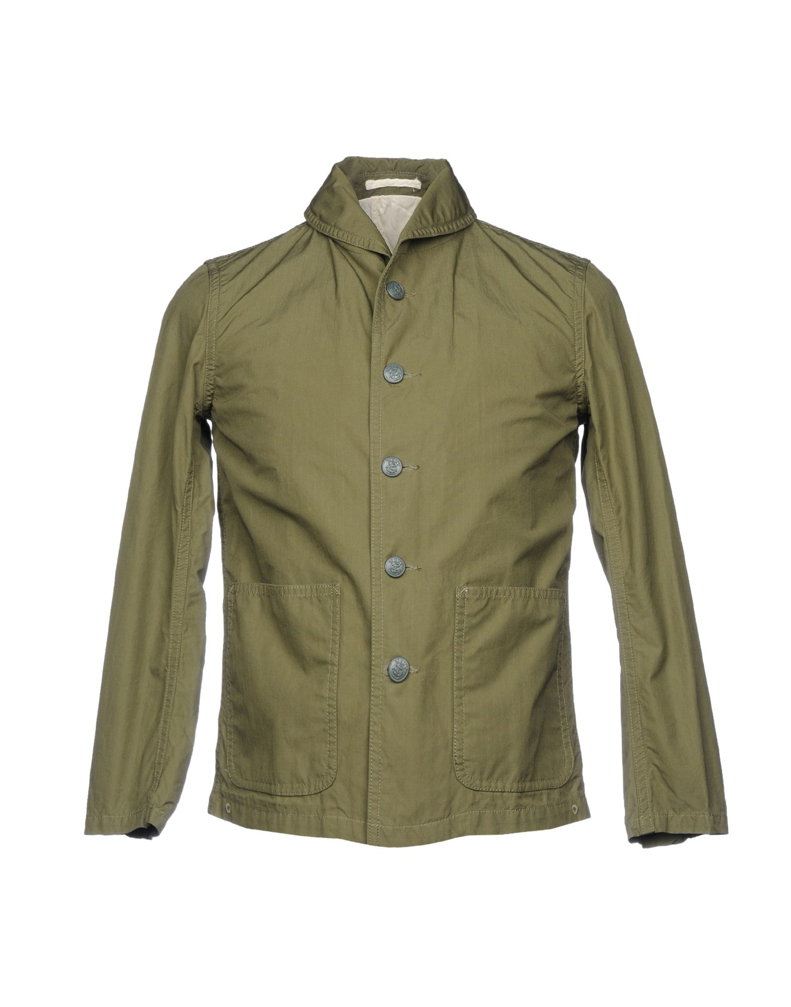 BEAMS Blazer in Military Green
