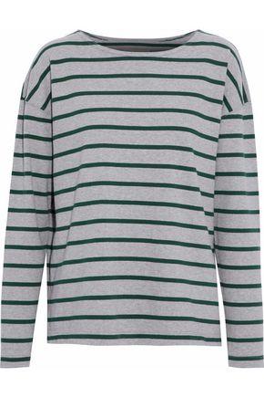 CURRENT/ELLIOTT The Brenton striped cotton-blend jersey top