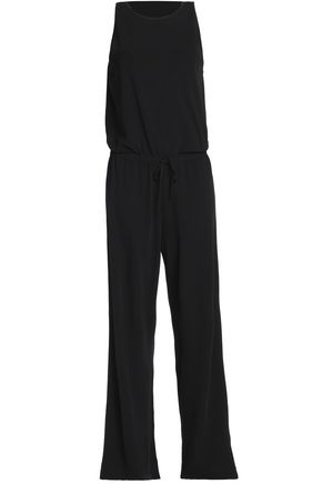 THEORY Draped jersey jumpsuit