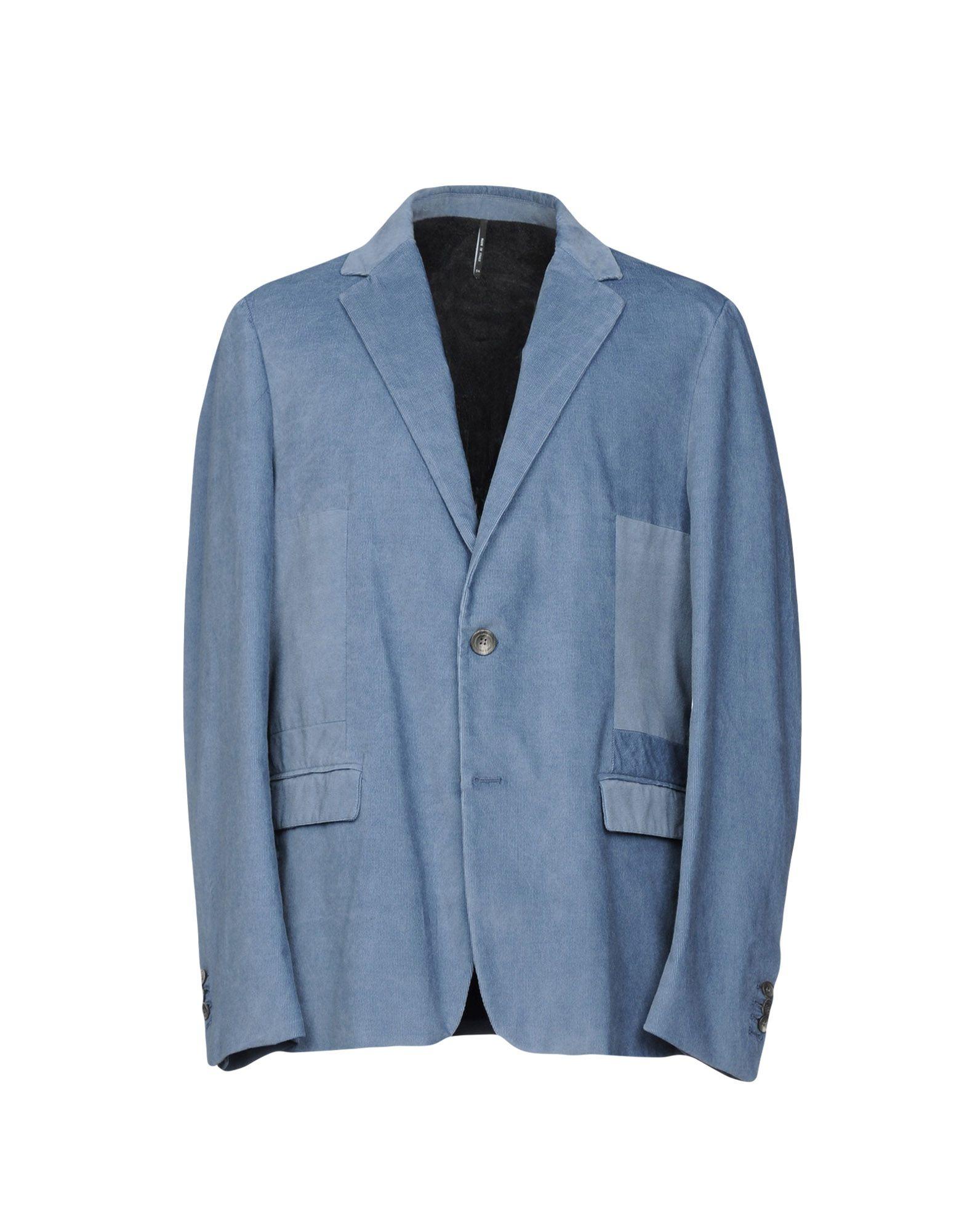 HELBERS Blazer in Slate Blue