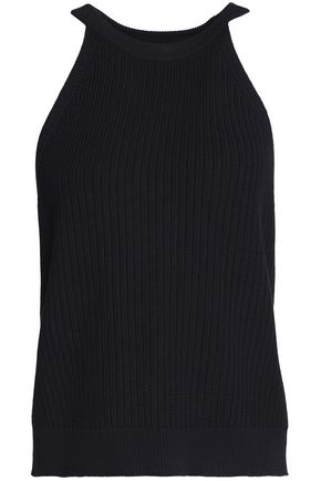 THEORY Ribbed-knit top