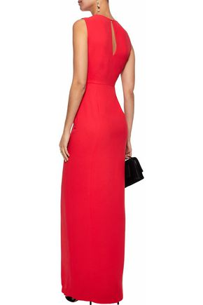 RAOUL Crepe gown