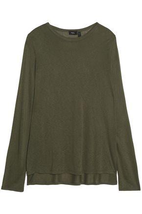 THEORY Mélange jersey T-shirt