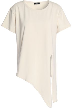 THEORY Asymmetric jersey T-shirt