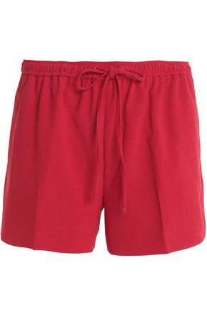 ALEXANDER WANG Gathered crepe shorts