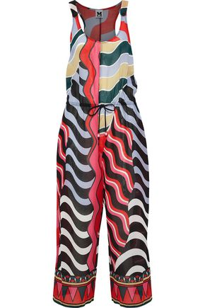 M MISSONI Printed cotton-voile jumpsuit