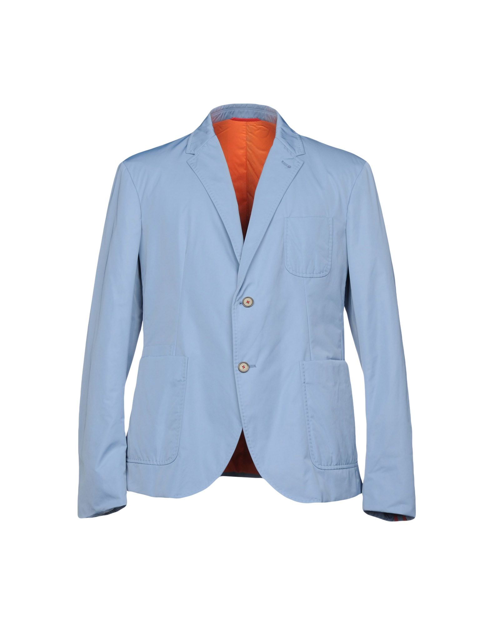 《送料無料》SOME WEAR ELSE メンズ テーラードジャケット アジュールブルー 52 ポリエステル 100%