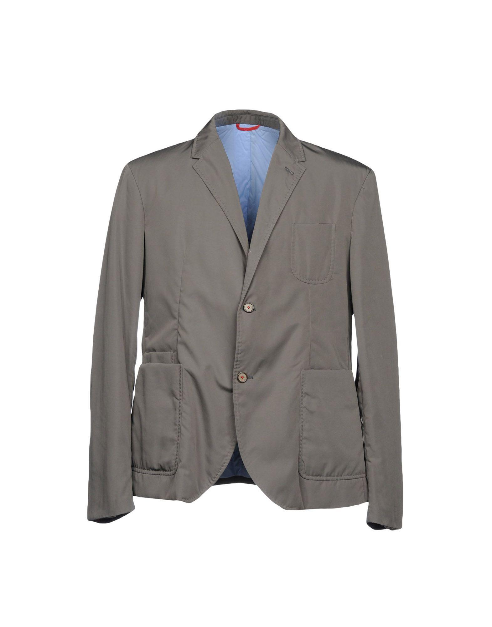 《期間限定セール中》SOME WEAR ELSE メンズ テーラードジャケット グレー 56 100% ポリエステル