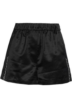 3.1 PHILLIP LIM Embellished cotton-blend satin-brocade shorts