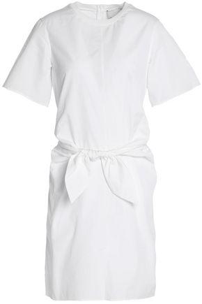 3.1 PHILLIP LIM Knotted cutout cotton-poplin mini dress