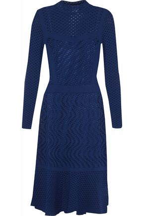 M MISSONI Fluted open-knit dress