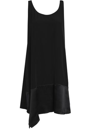3.1 PHILLIP LIM Draped silk-crepe mini dress
