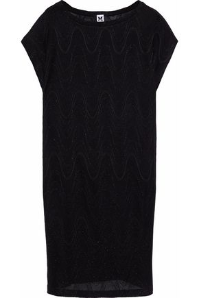 M MISSONI Lamé knitted mini dress