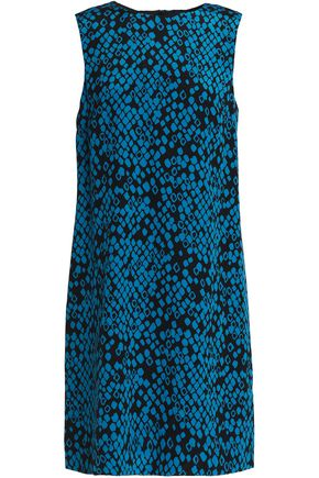 M MISSONI Printed silk-crepe mini dress
