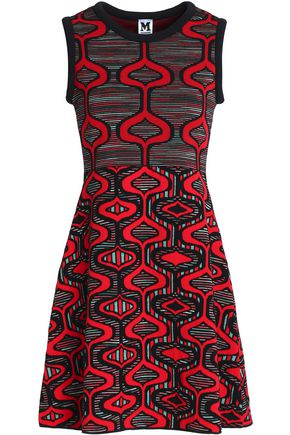 M MISSONI Printed stretch-knit dress