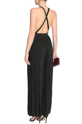 ... M MISSONI Open-back crochet-knit jumpsuit