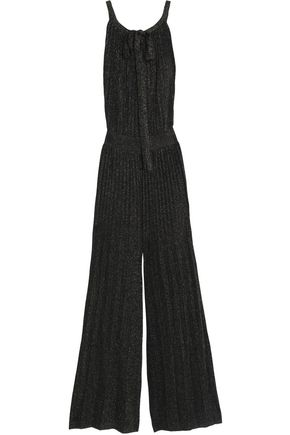 M MISSONI Open-back crochet-knit jumpsuit