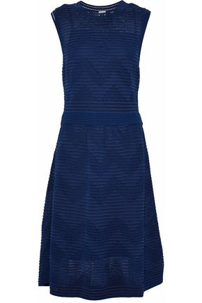 M MISSONI Cloqué stretch-knit midi dress