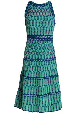 M MISSONI Printed stretch-knit dress