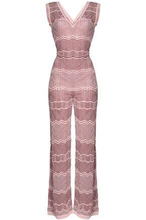 M MISSONI Metallic jacquard-knit jumpsuit