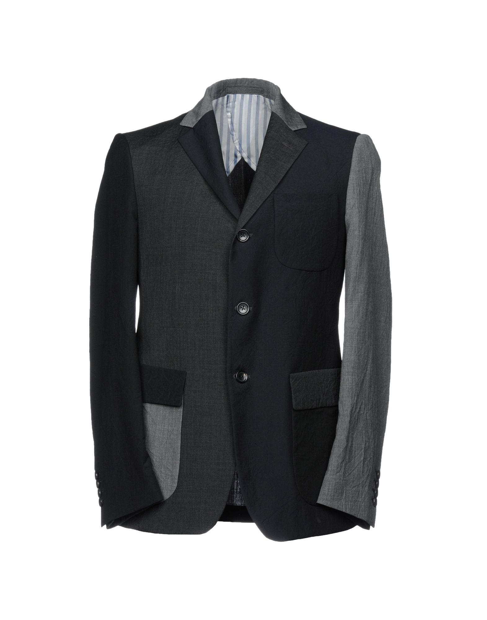 WOOSTER + LARDINI Blazer in Steel Grey