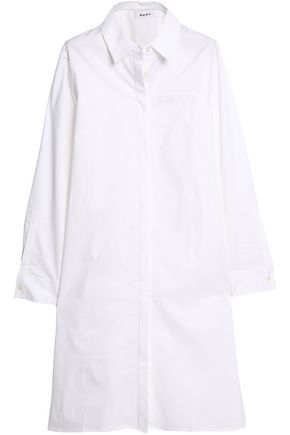 DKNY Cotton-blend shirt dress