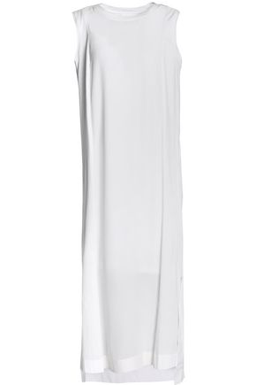 DKNY PURE Silk midi dress
