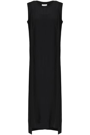 DKNY Silk crepe de chine midi dress